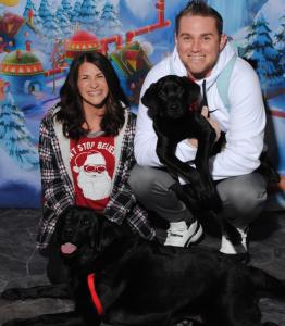 dogs meet santa